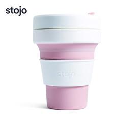 STOJO แก้ว Pocket Cup 12 oz - Rose