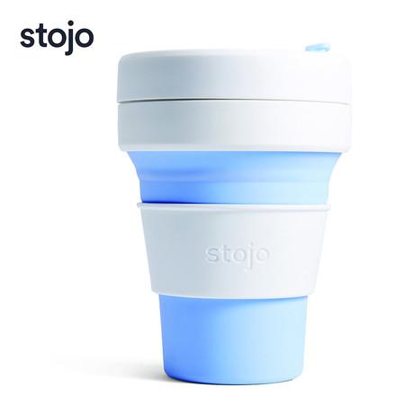 STOJO แก้ว Pocket Cup 12 oz - Sky