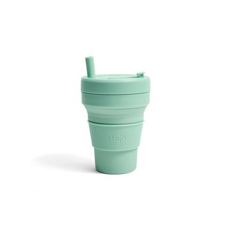 STOJO แก้ว Biggie Cup 16 oz - Seafoam