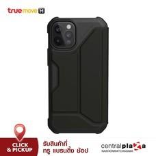 UAG เคสหนัง PU มีฝาปิด สำหรับ iPhone 12 และ 12 Pro รุ่น Metropolis PU - Black
