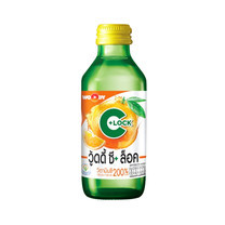 WOODY C+ LOCK เครื่องดื่มวิตามินซี รสส้ม 140 มล.