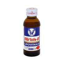 LIPOVITAN-D เครื่องดื่มชูกำลังช่วยเพิ่มความสดชื่น 100 มล.
