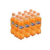 แฟนต้า เครื่องดื่มน้ำอัดลม กลิ่นส้ม 450 มล. x 12 กระป๋อง (ยกแพ็ค)