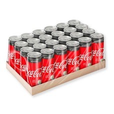 โค้ก เครื่องดื่มน้ำอัดลม สูตรไม่มีน้ำตาล 325 มล. x 24 กระป๋อง (ยกแพ็ค)