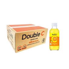 ดับเบิ้ลซี เครื่องดื่มวิตามินซี รสส้มและเลมอน 160 มล. x 30 ขวด (ยกแพ็ค)
