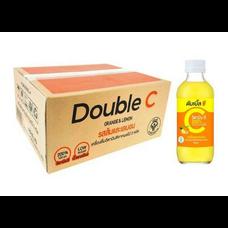 ดับเบิ้ลซี ส้ม & เลมอน 160 มล. X 30 ขวด (ยกลัง)