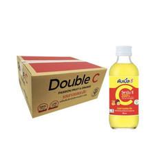 ดับเบิ้ลซี เครื่องดื่มวิตามินซี เสารสและส้ม 160 มล. x 30 ขวด (ยกแพ็ค)