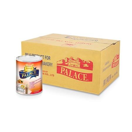 ผลิตภัณฑ์นมสำหรับปรุงอาหารและเบเกอรี่ ตราพาเลซ 385 ก. x 48 กระป๋อง (ยกลัง)