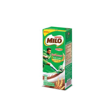 MILO UHT นมยูเอชทีพร้อมดื่ม รสช็อคโกแลตมอลต์ 180 มล.