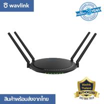 Wavlink Quantum AC1200 Wireless Dual - Band Gigabit WiFi Router Touchlink กระจายสัญญาณเสถียร เชื่อมต่อง่าย