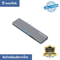 Wavlink WL-UHP3405M Type-C Gen 1 USB 3.0 Aluminum Mini Dock with Power Delivery & Card Readers for MacBook Pro