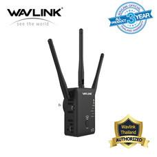 Wavlink AC750 Dual-band Wireless AP/Range Extender/Router ตัวขยายสัญญาณ Wifi ทำให้ได้ไกลมากขึ้น และลดปัญหาจุดอับสัญญาณ ใช้งานง่ายมาก WL-WN575A2