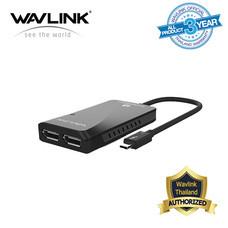 Wavlink Thunderbolt 3 to Dual 4K DisplayPort Adapter for Mac 4K และ 5K จบได้ในตัวนี้ตัวเดียว