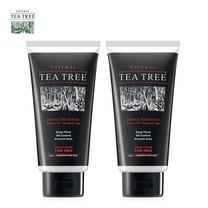 Tea Tree ที ทรี โฟมล้างหน้า ฟอร์เมน เฟเชียล โฟม สำหรับผู้ชาย ขนาด 4.8 ออนซ์ 2 หลอด