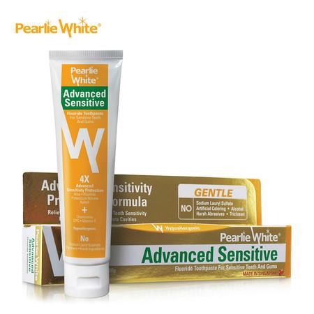 Advanced Sensitive Fluoride Toothpaste