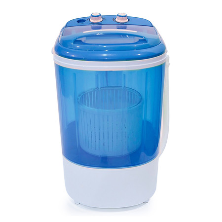 เครื่องซักผ้าขนาดเล็ก JYE สีฟ้า