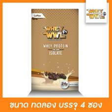 WHEYWWL เวย์โปรตีนไอโซเลท ลดไขมัน/เพิ่มกล้ามเนื้อ - ขนาดทดลอง รสกาแฟ