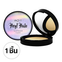 IN2IT Hey! halo blur pressed powder HBP02 (02 Honey) 1 ชิ้น