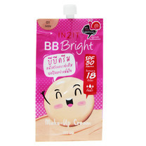 IN2IT BB Bright Make-Up Cream BQB01-S (01 Ivory) 1 ซอง ราคาพิเศษ
