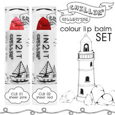 IN2IT Chillin Colour Lip Balm 1 Set (CLB01 + CLB02)