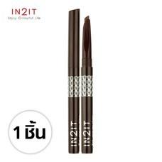 IN2IT ไทร์-แองกิวล่า อายโบรว์ ไลน์เนอร์ WTB01 (Dark Brown) 1 ชิ้น