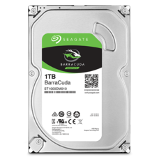Seagate Barracuda 1TB 7200RPM 64MB SATA-3