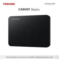 Toshiba External Harddrive (2TB) รุ่น Canvio Basics A3 External HDD Black 2TB USB3.2