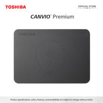 Toshiba External Harddrive (1TB) รุ่น Canvio PremiumP2 External HDD 1TB Dark GreyUSB3.0
