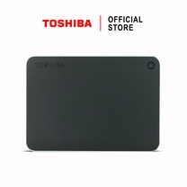 Toshiba External Harddrive (2TB) รุ่น Canvio PremiumP2 External HDD 2TB Dark Grey USB3.0