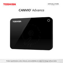 Toshiba External Harddrive (2TB) รุ่น Canvio V9 External HDD 2TB Black USB3.2