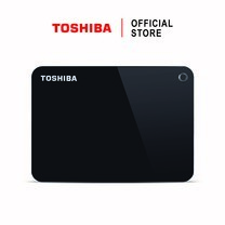 Toshiba External Harddrive (4TB) รุ่น Canvio V9 External HDD 4TB Black USB 3.0