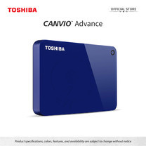 Toshiba External Harddrive (4TB) รุ่น Canvio V9 External HDD 4TB Blue USB3.2