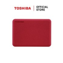 Toshiba External Harddrive (2TB) สีแดง รุ่น Canvio V10 External HDD 2TB USB3.2 New!