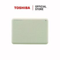 Toshiba External Harddrive (2TB) สีขาว รุ่น Canvio V10 External HDD 2TB USB3.2 New!