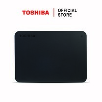 Toshiba External Harddrive (2TB) รุ่น Canvio Basics TypeC External HDD 2TB Black USB Type-C