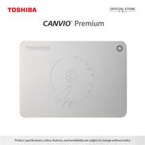 Toshiba External Harddrive (2TB) รุ่น Canvio PremiumP2 External HDD 2TB Silver USB3.0