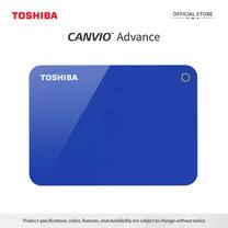 Toshiba External Harddrive (1TB) รุ่น Canvio V9 External HDD 1TB Blue USB3.2
