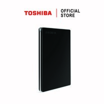 Toshiba External Harddrive (1TB) รุ่น Canvio Slim External HDD 1 TB Black USB 3.0