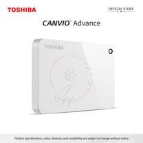 Toshiba External Harddrive (4TB) รุ่น Canvio V9 External HDD 4TB White USB 3.0