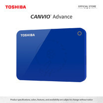 Toshiba External Harddrive (2TB) รุ่น Canvio V9 External HDD 2TB Blue USB3.2