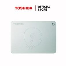 Toshiba External Harddrive (2TB) รุ่น Canvio PremiumP2 External HDD 2TB Silver USB 3.0