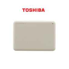 Toshiba External Harddrive (2TB) สีขาว รุ่น Canvio V10 External HDD 2TB USB3.2 New!