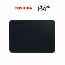 Toshiba External Harddrive (1TB) รุ่น Canvio Basics A3 External HDD Black 1TB USB3.0