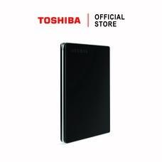 Toshiba External Harddrive (2TB) รุ่น Canvio Slim  External HDD 2TB Black USB 3.0