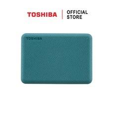 Toshiba External Harddrive (2TB) สีเขียว รุ่น Canvio V10 External HDD 2TB USB3.2 New!