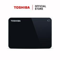 Toshiba External Harddrive (4TB) รุ่น Canvio V9 External HDD 4TB Black USB 3.0