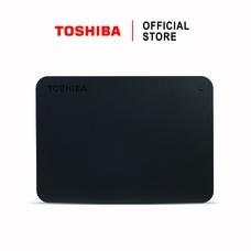 Toshiba External Harddrive (1TB) รุ่น Canvio Basics TypeC External HDD 1TB Black USB Type-C