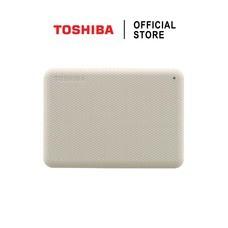 Toshiba External Harddrive (4TB) สีขาว รุ่น Canvio V10 External HDD 4TB USB3.2 New!