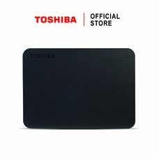 Toshiba External Harddrive (2TB) รุ่น Canvio Basics TypeC External HDD 2TB Black USB Type-C