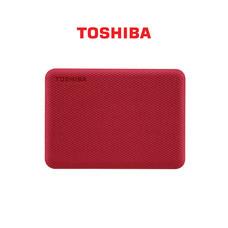 Toshiba External Harddrive (2TB) สีแดง รุ่น Canvio V10 External HDD 2TB USB3.2 New!